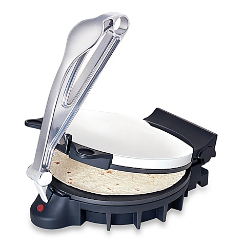 CucinaPro Electric Tortilla Maker - Heavy Duty, Non-stick -Perfect Homemade Flatbread and Tortillas,