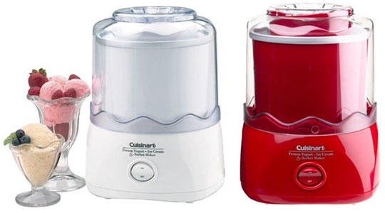 Cuisinart Ice Cream Maker 1.5 Quart Ice-21