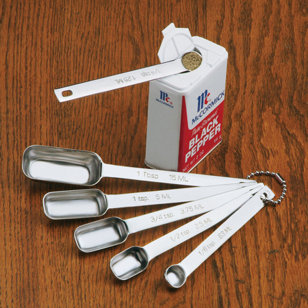 Endurance Spice Stainless Steel Measuring Spoons