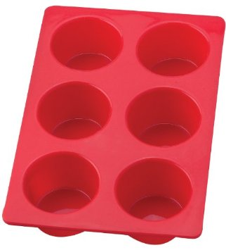 HIC 6 Cup Silicone Muffin Pan