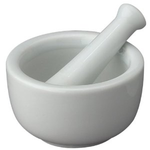 Mini Porcelain Mortar and Pestle